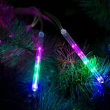 Turturi meteor 10 LED - 11,5 cm, multicolor, 3xAAA Best CarHome
