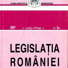 Legislatia Romaniei, 1 aprilie-30 iunie 1997, vol. 2/B