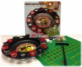 Joc Ruleta 16 Pahare cu 60 Chipuri Valorice Cutie Metalica