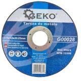 Disc pentru taiat metal 115x1.0x22mm