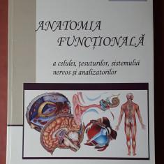 ANATOMIA FUNCTIONALA A CELULEI, TESUTURILOR, SISTEMULUI NERVOS SI ANALIZATORILOR