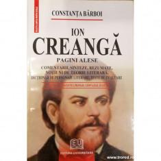 Ion Creanga pagini alese
