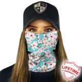 Bandana/Face Shield/Cagula/Esarfa - Blossom, made in USA