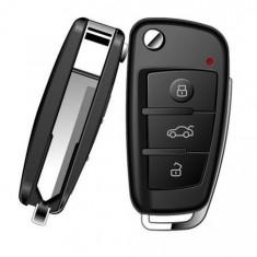 Cheie Auto Spion cu Camera HD iUni SpyCam RMS23, Night Vision, senzor de miscare, Foto, Video