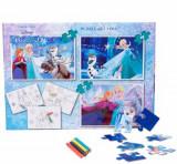Cumpara ieftin Puzzle 3in1 + Bonus Frozen