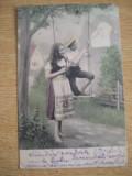 CAB9 - CARTE POSTALA FOARTE VECHE - CIRCULATA LA IACOBENI LA ANII 1900