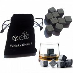 Set 9 cuburi pentru racire bauturi, negru, Gonga