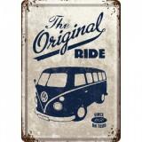 Placa metalica - VW The original Ride1950 - 10x14 cm