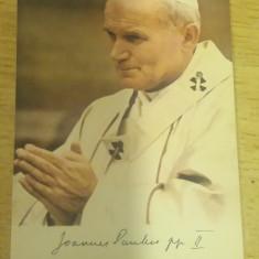 CAB9 - ILUSTRATA FOARTE VECHE - PAPA IOAN PAUL II