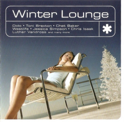 CD Winter Lounge, original, jazz:  Toni Braxton, Chris Isaak foto