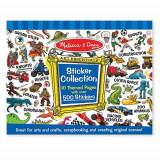 Colectia de Abtibilduri - Albastru, Melissa & Doug