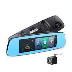 Oglinda Camera Video 2 camere fata/spate Full HD