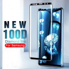 Folie sticla securizata curbata 100D FULL GLUE Samsung Galaxy S8, S8 plus