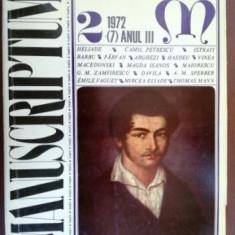 Manuscriptum 2/1972