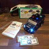 Pușculița mașinuță poliție, mașină jucărie muzicală Hummer hummvee