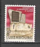Luxemburg.1982 40 ani deportarea militarilor si civililor  SL.792, Nestampilat