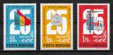 România - 1972 - LP 813 - Aniversarea proclamării RSR - serie completă MNH, Nestampilat