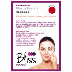 Mască facială vin roșu și vitamina E(BLS-CFMW030)