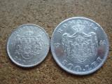 ROMANIA - LOT 200 LEI 1942 + 500 LEI 1944 , ARGINT, MIHAI 1, L7.60