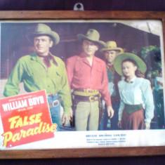 Afis original film celebru american , 75 de ani vechime, inramarea originala