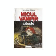 Aventurile micului vampir, vol. 8 -Micul vampir citeste