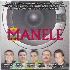 CD Manele De Top, original