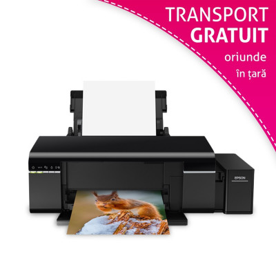 Imprimanta Epson L805 cu CISS incorporat foto
