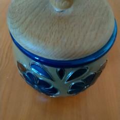 Bomboniera capac lemn