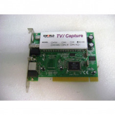 TV Tunner KWORLD KW-TV878RF-PRO PCI , second hand