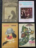 Lot 4 Reviste / Carti vechi. Urzica, Satira & Umor, Ademenitoarele capcane