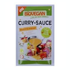 Sos Bio de Curry Biovegan Pronat 29gr Cod: BV43203