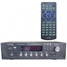Cumpara ieftin Amplificator karaoke digital, USB, Tuner, Bluetooth, 2 x 50 W