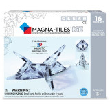 Magna-Tiles ICE Transparent - set magnetic - 16 piese