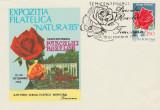 1985 Semicentenarul Parcului Rozelor Timisoara, plic filatelic stampila speciala