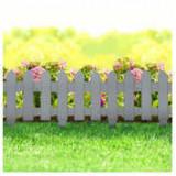 Bordura pt. pat de flori / gard - extensibil, 40,5 x 29,5 cm - Gri ManiaMall Cars
