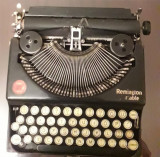 Masina de scris-Remington portable nr.1-anul 1920-functionala-pret negociabil