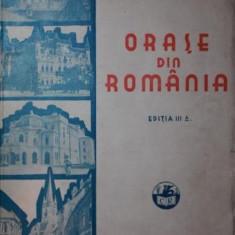 ORASE DIN ROMANIA - I . SIMIONESCU