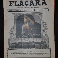 BANU C. (Director), FLACARA (Literara, Artistica si Sociala), Anul III, Numarul 27, 1914, Bucuresti
