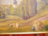 "Tablou vechi ""Peisaj"" Paul Verona, Peisaje, Ulei, Impresionism"