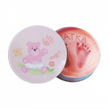 Mulaj amprenta Baby HandPrint Dream Box, Pink