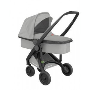 Carucior 2 In 1 Greentom 100% Ecologic Black Grey