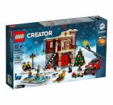Cumpara ieftin LEGO Creator Expert - Winter Village Fire Station 10263