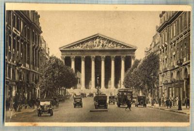 AD 546 C. P. VECHE-PARIS.. EN FLANANT-LA MADELEINE -FRANTA -MASINI DE EPOCA foto