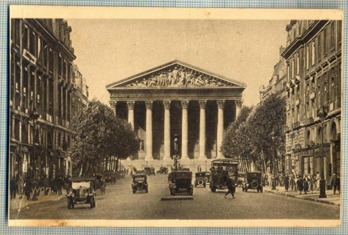 AD 546 C. P. VECHE-PARIS.. EN FLANANT-LA MADELEINE -FRANTA -MASINI DE EPOCA