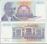= IUGOSLAVIA – 500 000 000 DINARA – B - 1993 – UNC   =