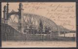 OLTENIA SLATINA PODUL PESTE OLT CLASICA UPU CIRCULATA 1905, Printata
