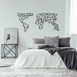 Cumpara ieftin Decoratiune pentru perete, Ocean, metal 100 procente, 120 x 58 cm, 874OCN1062, Negru