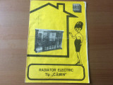 Pliant radiator electric tip camin electro mures targu mures 1978 RSR epoca aur