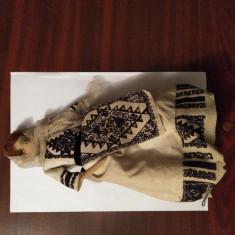 CY - Papusa veche port popular imbracaminte pusa pe schelet metalic