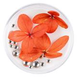 Cumpara ieftin Flori Uscate Unghii LUXORISE cu cristale - Floral Fairytale #20